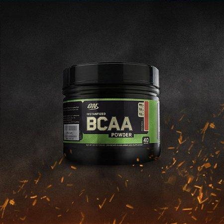 PROGRESSIVO - BCAA 5000 em Pó (260g) - Optimum Nutrition