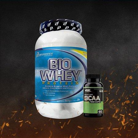 Bio Whey Performance (909g) + BCAA ON 1000 (60 caps)