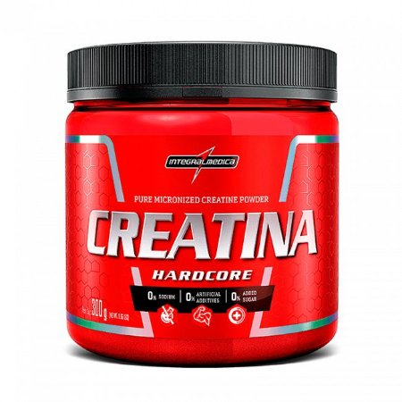 Creatina Hardcore 300g - IntegralMédica