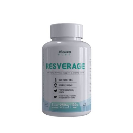 Resverage 250mg 60caps - Bioghen Pure