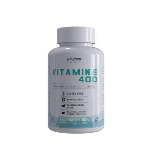 Vitamina E 400UI 60caps - Bioghen Pure