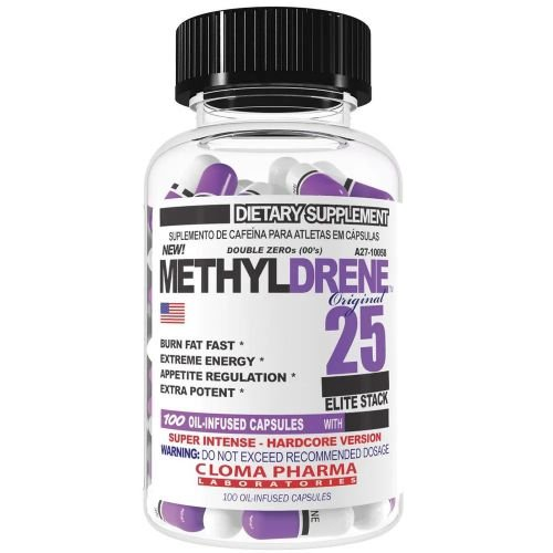 Methyldrene 25 Elite Stacks 60caps - Clone Pharma