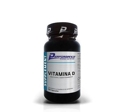 Vitamina D3 200UI 100caps - Performance Nutrition