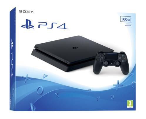 8b95523e8bf22 PLAYSTATION 4 SLIM 500GB - Azilado Em Games