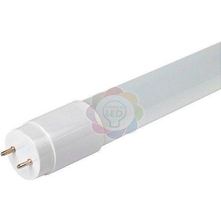 Lâmpada LED Tubular 60 cm 9w Branca Quente