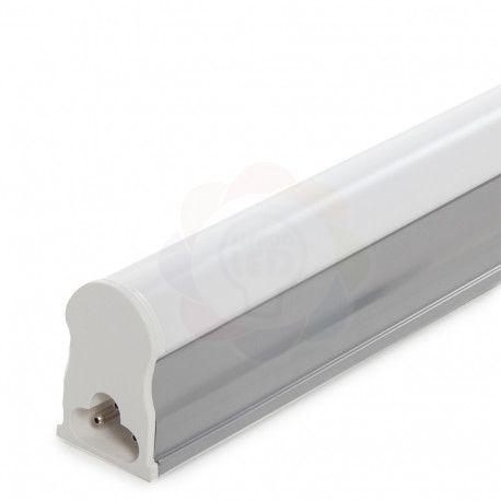 Lâmpada LED Tubular com Calha T5 60 cm 10w Branca Fria