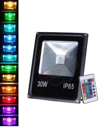 Refletor LED 30w Colorido RGB