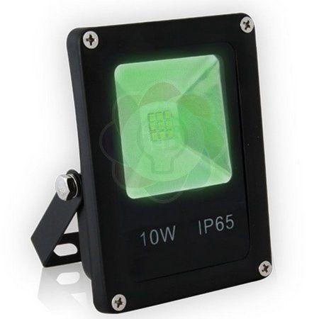 Refletor LED 10w SMD Verde