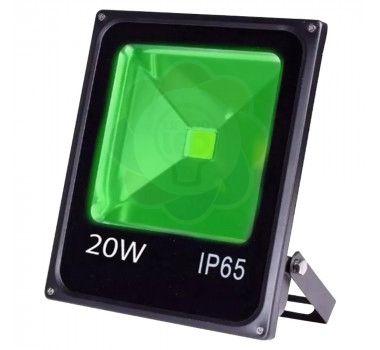 Refletor LED 20w COB Verde