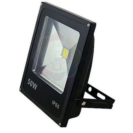 Refletor LED 50w COB Branco Frio