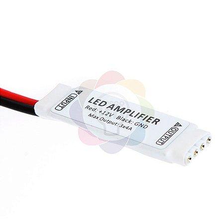 Conetor Amplificador para Fita de LED 12v