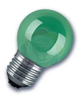 Lâmpada Bulbo LED Bolinha 1w E27 Verde
