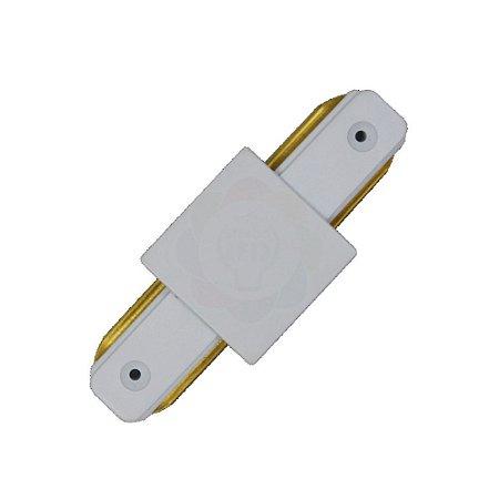Conexão/emenda I para Trilho Eletrificado Branco