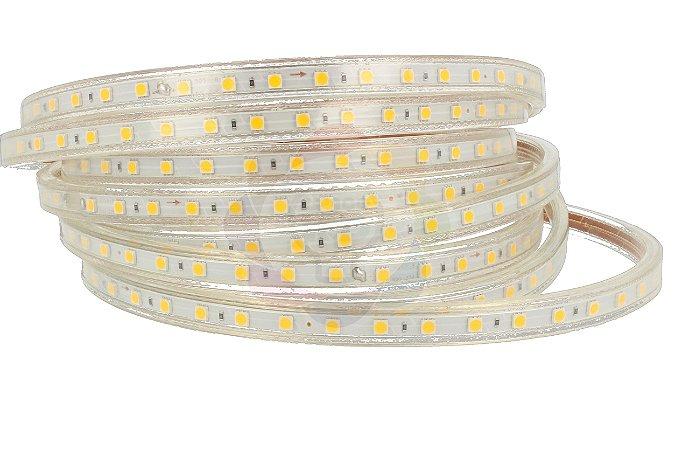 Mangueira de LED 5050 Branco Quente 1 METRO