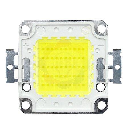 Chip para Refletor LED 50w COB Branco Frio