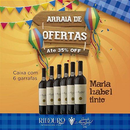 PROMOÇÃO DE SÃO JOÃO - Maria Izabel 2017, tinto, 750ml, caixa com 6 garrafas