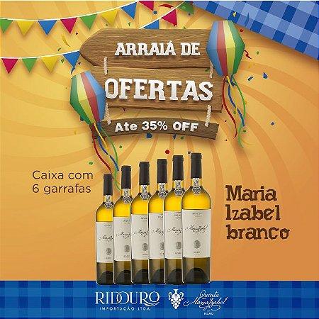 PROMOÇÃO DE SÃO JOÃO - Maria Izabel 2018, branco, 750ml, caixa com 6 garrafas