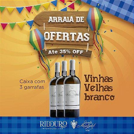 PROMOÇÃO DE SÃO JOÃO - Maria Izabel Vinhas Velhas 2017, branco, 750ml, caixa com 3 garrafas