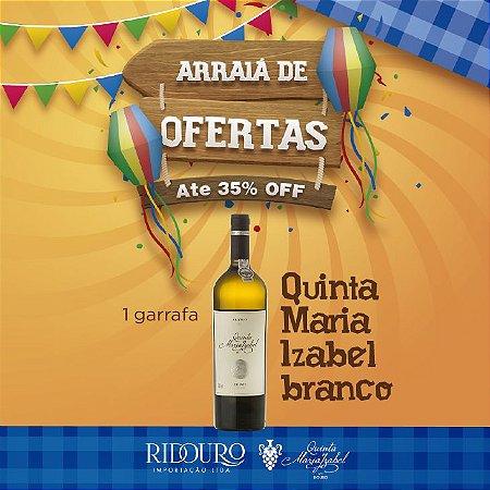 PROMOÇÃO DE SÃO JOÃO - Quinta Maria Izabel, 2017, branco, 750ml, 1 garrafa