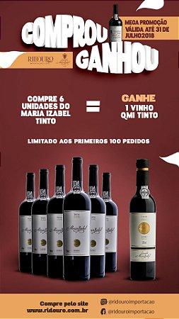 Combo de Inverno 4 - 6 Garrafas de Maria Izabel 2015 tinto, oferta 1 Quinta Maria Izabel tinto 2013