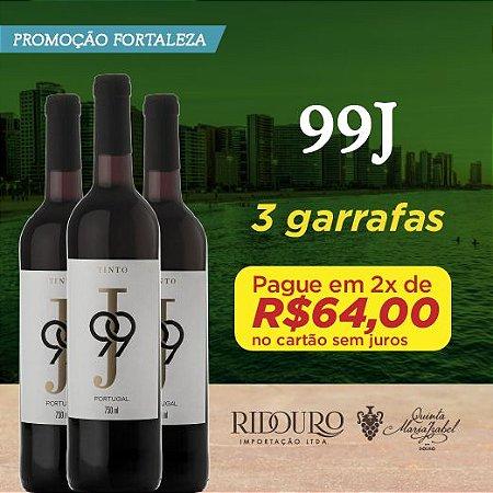 PROMO FORTALEZA - 3 GARRAFAS DE 99J