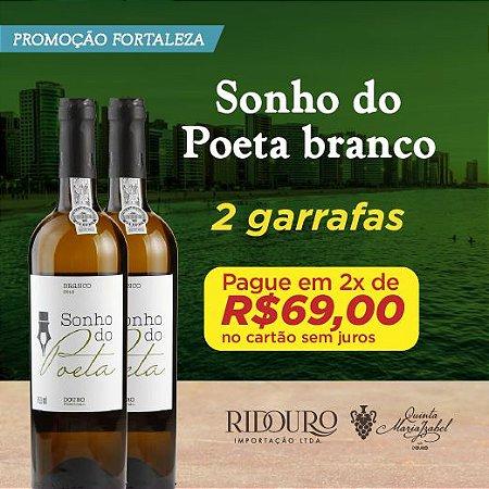 PROMO FORTALEZA - 2 GARRAFAS DE SONHO DO POETA BRANCO