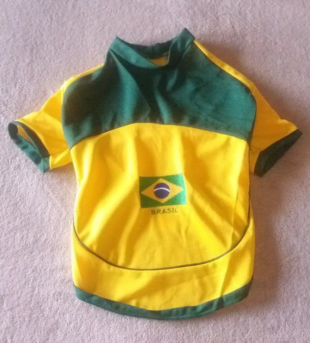Camisa do Brasil Copa do Mundo