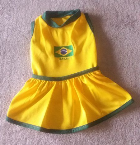 Vestido Brasil para Copa do Mundo