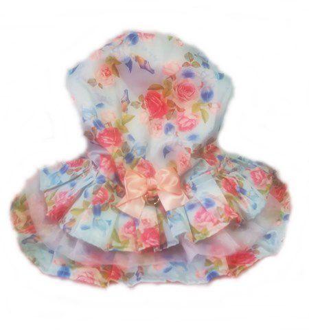 Vestido Luxo Floral