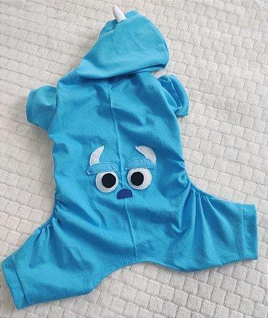 Pijama Kigurumi do Sulley ( Monstros )
