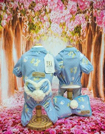 Pijama Ursinho Azul