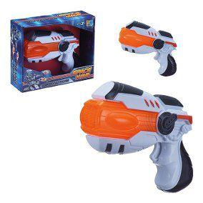 Pistola de Brinquedo com Luz e Som Space War
