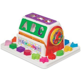 Brinquedo Educativo Para Bebe Girababy Didático