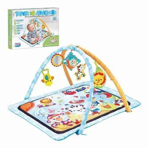 Tapete de Atividades para Bebê Estimula seu Desenvolvimento Art Baby