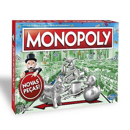 Jogo Original Monopoly Classic Compra e Venda Hasbro