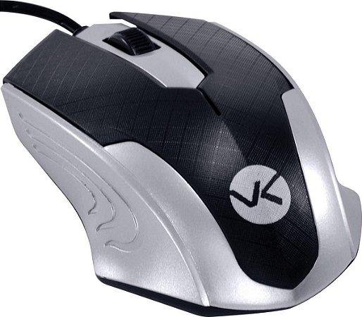 Mouse Óptico Usb Gamer Mb71 1200dpi Preto/prata Vinik