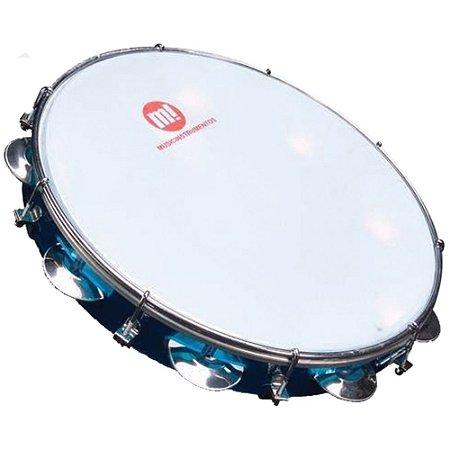 Pandeiro Acrilico 10'' Leitosa 82A Azul