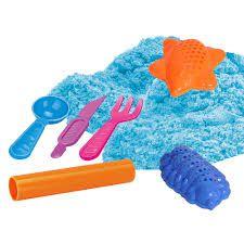 Massinha de Modelar Areia Divertida no Balde 400g DM Toys