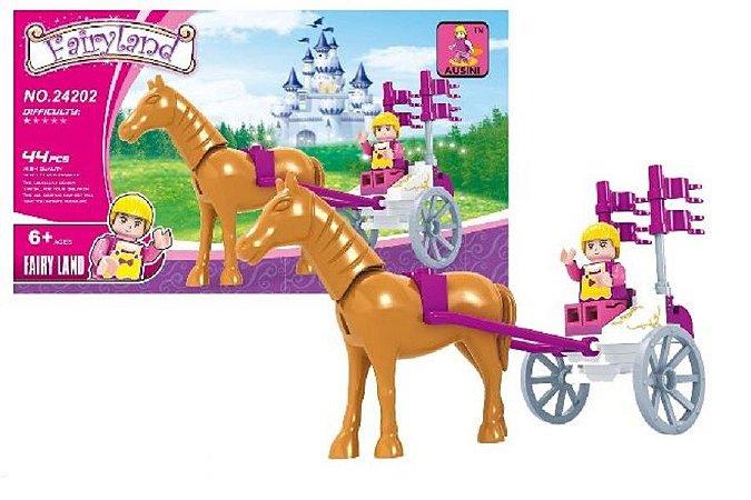 Blocos de montar Fairyland 24202 com 44 peças Brinquedo Ausini