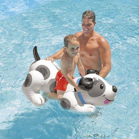 Boia Inflavel Infantil Bote cachorro 57521 Intex