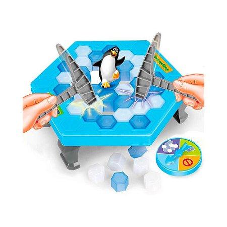 Jogo Quebra Gelo Pinguim Numa Fria Brinquedo Art Brink
