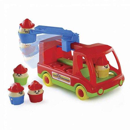Brinquedo Educativo Fire Department Bombeiro MK146 Dismat