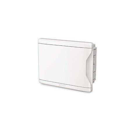 Krona Quadro Distrbuicao Branco Para Disjuntores 24D/18N Embutir Sem Barramento