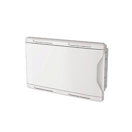 Krona Quadro Branco Sistema VDI 30x35 Embutir