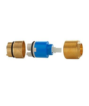 Blukit Prolongador Para Misturador Monocomando Chuveiro/Ducha Higienica 40mm Docol - 161615