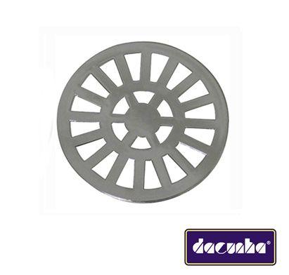 Dacunha Grelha Plastica Cromada Fixa Redonda Dn 150