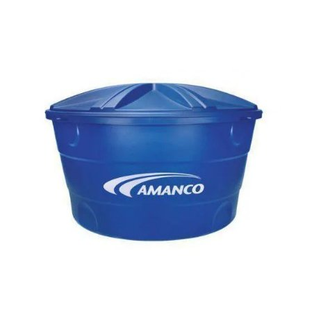 Amanco Caixa D'Agua Com Tampa Tripla Camada 1000L