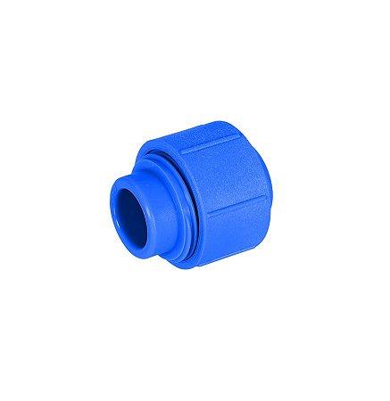 Amanco Industrial Uniao Dupla F/F PPR Azul