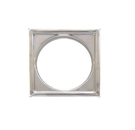 Clarinox Caixilho Inox Quadrado De 100 mm