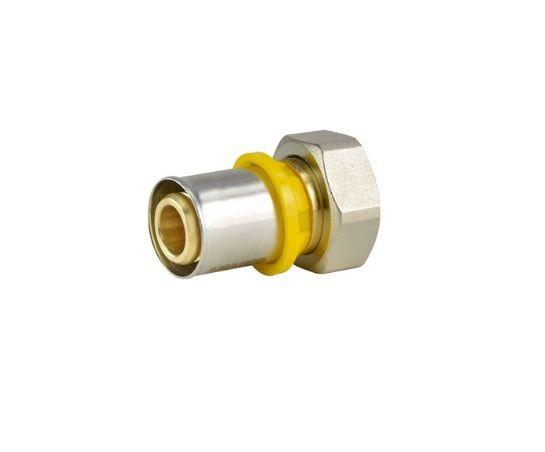 Prensar Gas Conector Com Rosca Femea Movel